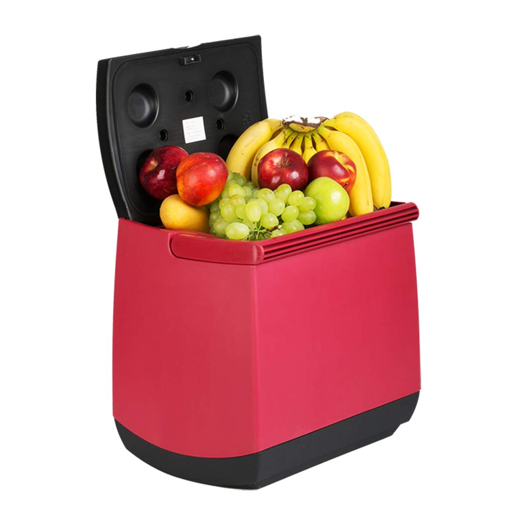 Thermoelectric Mini Fridge Cooler and Warmer - 25 Liter - for Home,Office, Car, Dorm or Boat - Compact & Portable - AC & DC Power Cords - RED and Blue