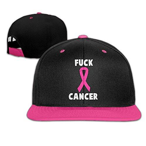 Mens/Womens Hip-hop Hats Fuck Cancer Adjustable Custom Cap by JLPOU-6 (Image #1)