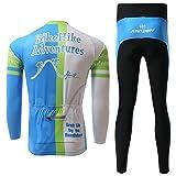 Xinzechen Unisex Polyester Cycling Jersey Long