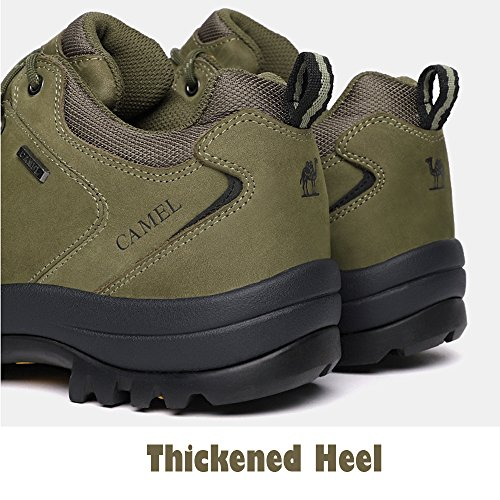 for Non Runing Shoes Shoes CAMEL Moutain Slip Resistant Climbing Walking Women Shoes Water Trail Green Army Hiking and CROWN RxqgBX