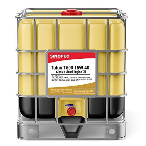 Tulux T500 15W40 Classic Diesel Engine Oil - 275 Gallon IBC Tote (1)