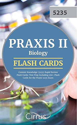 Praxis II Biology Content Knowledge  Rapid Review Flash Card