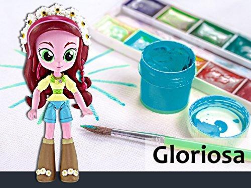 (How to Make a Custom Gloriosa Daisy Mini Doll)