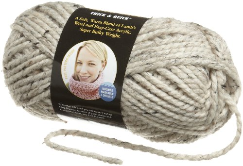 Lion Brand Yarn 640-123E Wool-Ease Thick and Quick