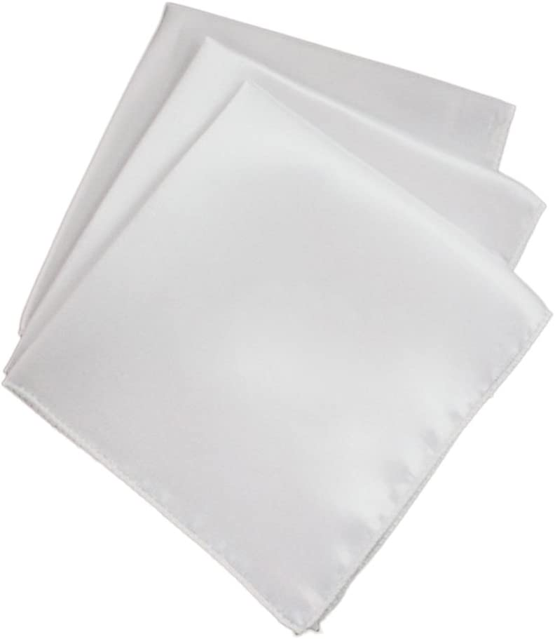 Baoblaze 40pcs Serviettes De Table Linge De Table En Tissu Serviettes De Table Polyester H/ôtel De Mariage Blanc