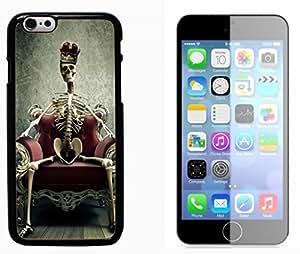 Popular Designed Skull Devil Diablo Hard Plastic and Aluminum Back Case FOR Apple iPhone 6 6G 4.7 BY XINCASE