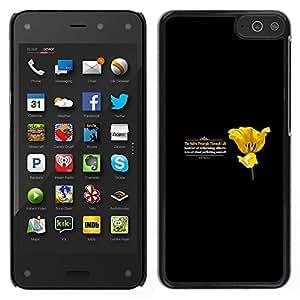 EJOY---Cubierta de la caja de protección la piel dura para el / Amazon Fire Phone / --PRINCIPIO DE LA VIDA