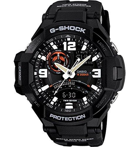 Casio G-Shock GA-1000-1A Aviation Series Men's Luxury Watch - Black / One Size
