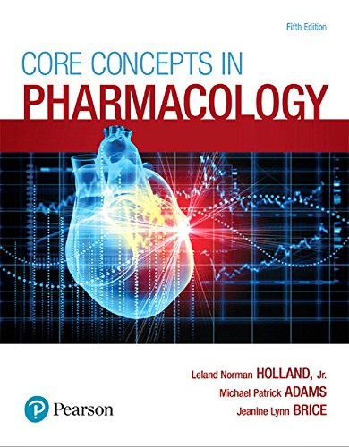 Core Concepts in Pharmacology (5th Edition)