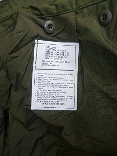 Original M65 Army Field Jacket, Small Short, oliv, neu, mit NATO-Versorgungs-Nr. kein Replikat