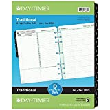 "Day-Timer Refill 2019, Two Page Per Day, January 2019 - December 2019, 8-1/2"" x 11"", Reference, Loose Leaf, Folio Size (94800)"