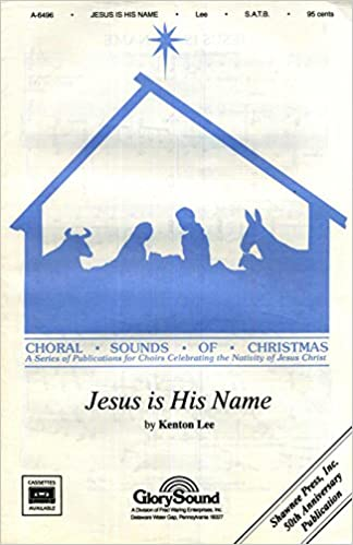 Amazon Jesus Is His Name Satb Sheet Music With Piano
