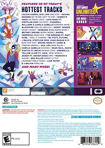 Just Dance 2019 - Wii U Standard Edition by Ubisoft (Image #2)