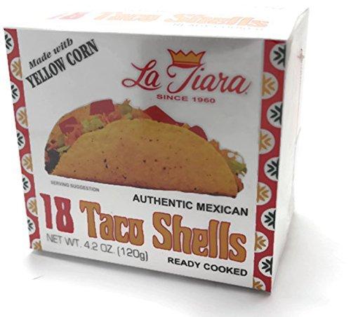 La Tiara Taco Shells, 18-count Box (Pack of 2) - Low Fat Taco