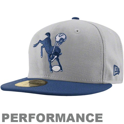 New Era Men s Indianapolis Colts On Field Classic 59FIFTY  Football  Structured Fitted Hat 7 65d824f6f7f