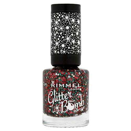 Rimmel Glitter Bomb Top Coats, Midnight Mistletoe