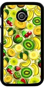 Funda para Motorola Moto E (Generation 1) - Frutas De Verano Jugosa Patrón by BluedarkArt