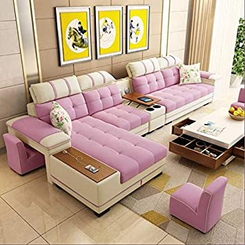 Fine Quality Assure Furniture 7 Seater Sectional Fabric Sofa Set Onthecornerstone Fun Painted Chair Ideas Images Onthecornerstoneorg