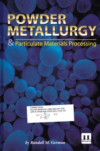 Powder Metallurgy & Particulate Materials Processing