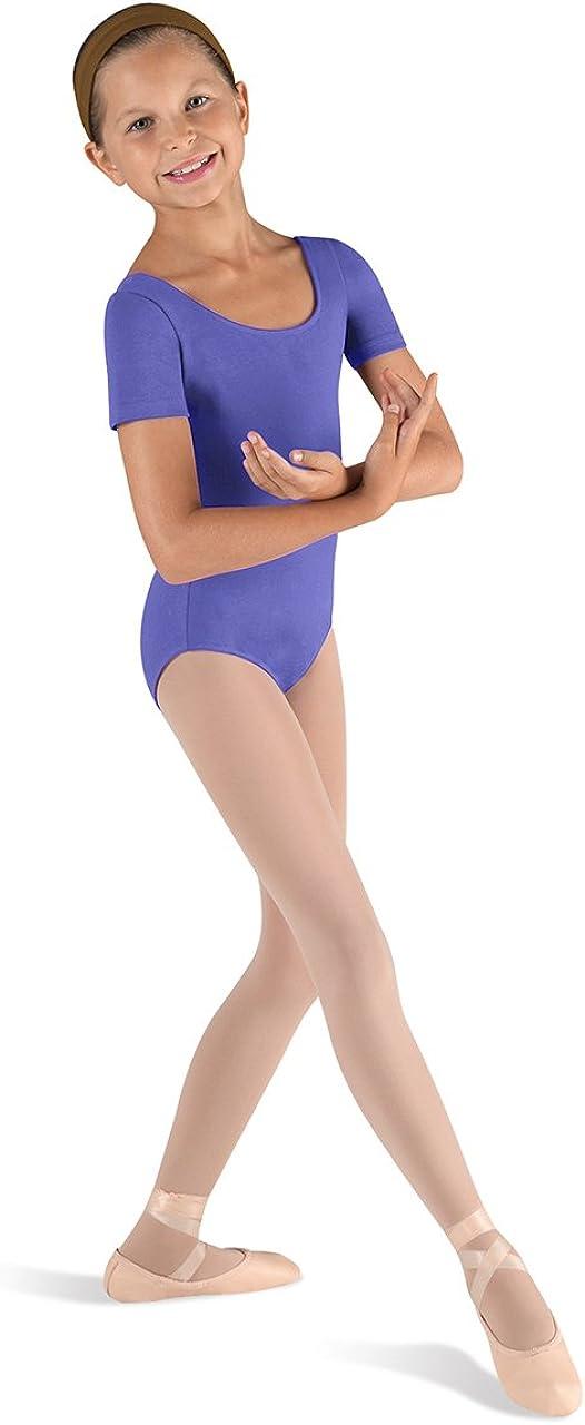BLOCH Dance Girls Ballet Short Sleeve Leotard