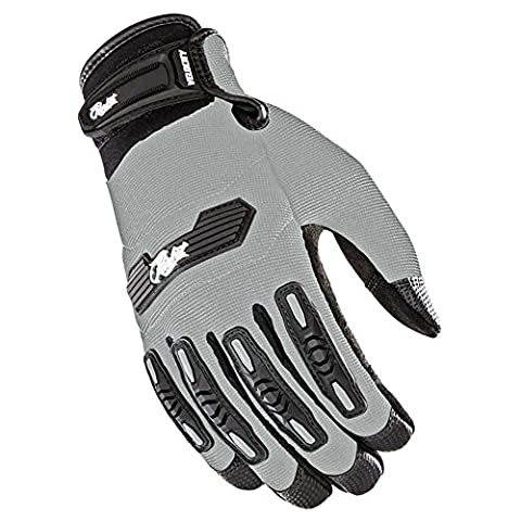 Joe Rocket Women's Velocity 2.0 Gloves (Silver, X-Large) - Textile Motorcycle Gloves