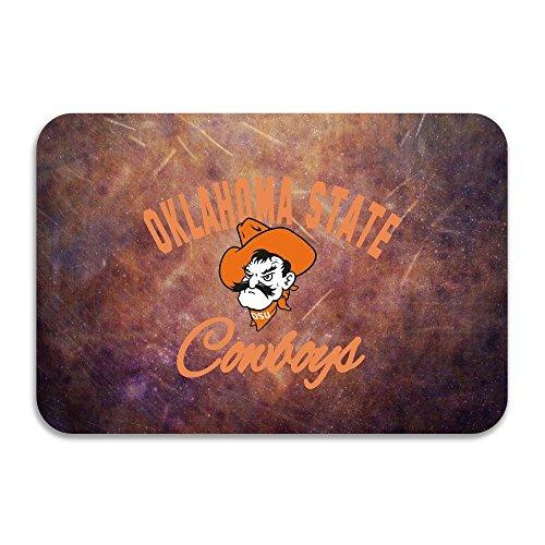 SARHT Oklahoma State Cowboys Cowgirls OSU Teams Logo Non-slip Doormat (Cartoon Cowgirl)