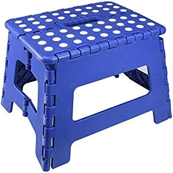 Amazon Com Essentials 21047 8 1 2 Quot Folding Step Stool