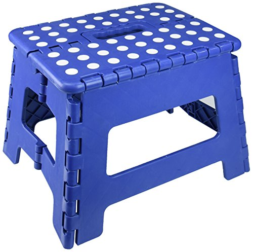 Essentials 21047 8-1/2'' Folding Step Stool by Essentials