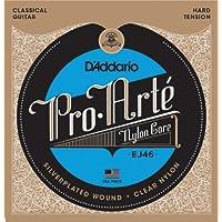 D'Addario Pro-Arte Nylon Classical Guitar Strings, Hard...
