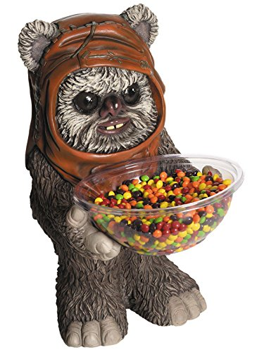 Rubie's Costume Co Star Wars Classic Ewok Candy Bowl Holder ()