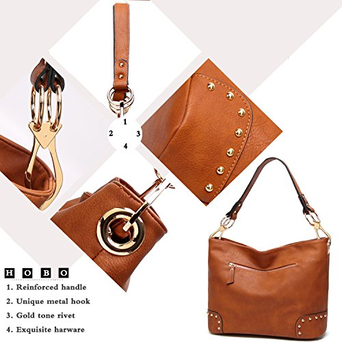 And 2 Shoulder Bags For Black Handbags Women Tote Satchel Tcife Purses YBwvqEwg