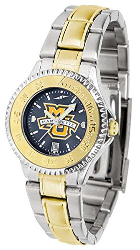 - Marquette Golden Eagles Competitor Two-Tone AnoChrome Women's Watch