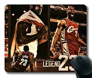 LeBron Raymone James miami heat #6 NBA Sports M034 oblong mouse pad