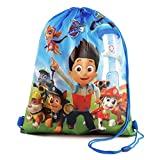 Paw Patrol Childrens/Kids Official Drawstring Gym Bag (One Size) (Multicolored)