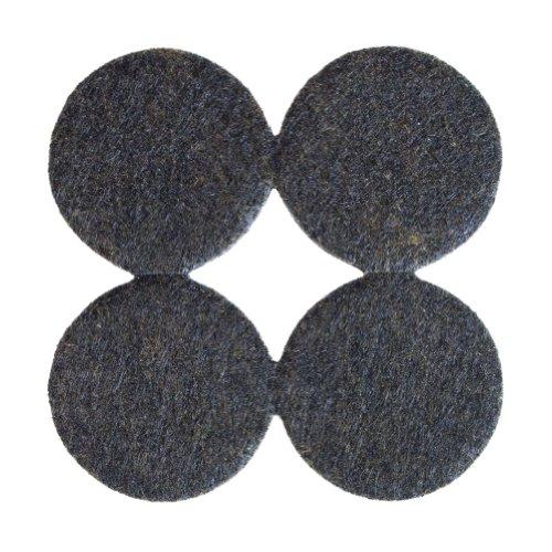 Brown 1-1/2'' Diameter X 3/16'' Thick Heavy Duty Felt Pads - 500 Pcs by The Felt Store (Image #3)
