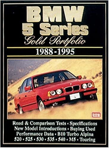 BMW 5 Series 1988-95 Gold Portfolio: R.M. Clarke: 9781855204850: Amazon.com: Books