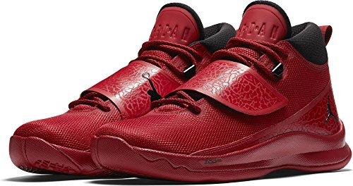 Jordan Mens Super Fly 5 Basketball Shoes Gym Red/Black-Gym Red 12