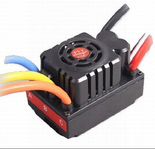 FVT 120A Brushless Sensored/Sensorless Car ESC, 2-6S