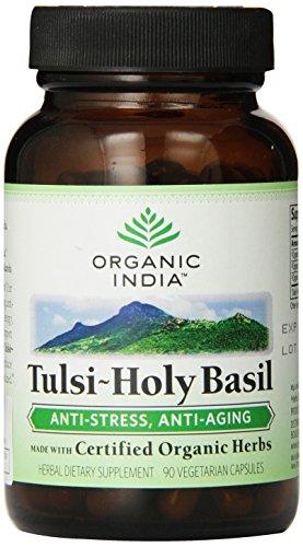 Inde Tulsi Bio Saint Basil, 90-Count