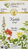Celebration Herbals Nettle Leaf Tea Organic 24 Tea Bag, 32gm
