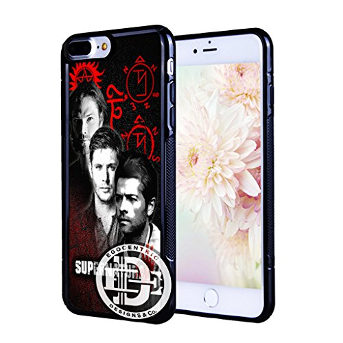 - (iPhone 7 Plus) EGOCENTRIC DESIGN & CO. Supernatural Television Show Fanart TPU Rubber Silicone Phone Case