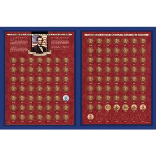 American Coin Treasures America's Great Lincoln Penny Collection 1909-2013 (Including The 1922 Lincoln ()