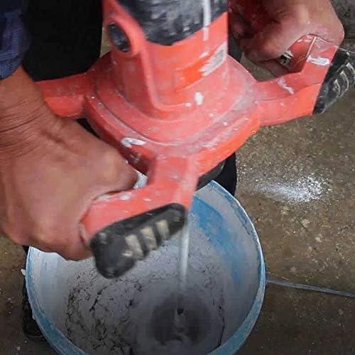 electr/ónica constante Mezcladora de cemento Batidor de Pintura Batidor de pintura y mortero caja de cambios de 2 velocidades arranque suave