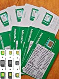 MegaFon 4G Russian SIM card w/ worldwide roaming correctly Pre-Activated incl. bonus + 50 rub balance incl