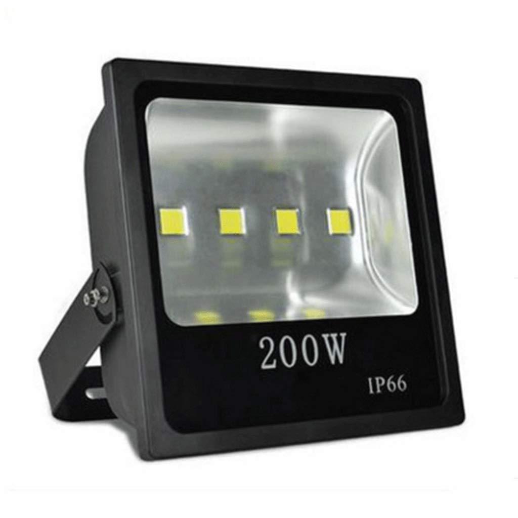 LIHM LED屋外セキュリティ洪水Light20000lumen IP65防水街路灯スーパーブライトパーフェクト用ガーデン裏庭ガレージ (色 : 白色光, サイズ さいず : 200w) B07QH716VF 白色光 200w