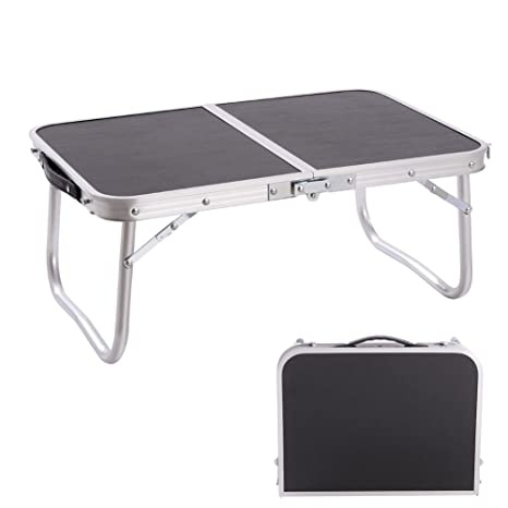 Outdoor Tables Aluminum Folding Table Laptop Bed Desk Adjustable Outdoor Tables Bbq Portable Lightweight Simple Rain-proof For Picnic Camping