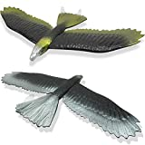 IROCH Eagle Airplane Glider EPP Hand Throwing Foam Plane Kit,22 inches Wingspan 2 Pack Flying Aircraft Toy Model