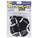 Stick It Felt Shapes, Footballs 24/Pkg