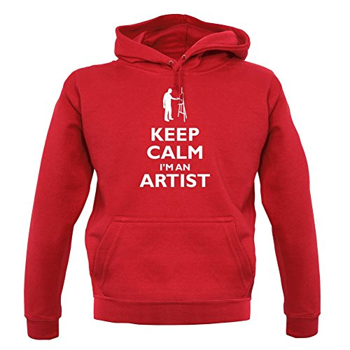 12 Keep pull Couleur Rouge Sweat An Unisex Calm I'm Artist PrPq70w