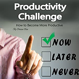Productivity Challenge: How to Become More Productive Audiobook